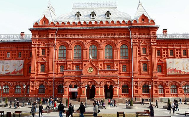 Вот это бывший музей Ленина.